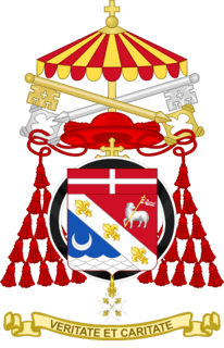 Coat of Arms of Jean-Louis Pierre Cardinal Tauran.png