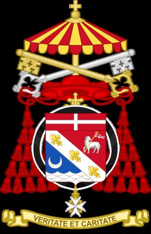Jean-Louis Tauran - Image: Coat of Arms of Jean Louis Pierre Cardinal Tauran