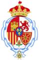 Coat of arms of Infanta Pilar of Spain, Duchess of Badajoz (Until 1991).png