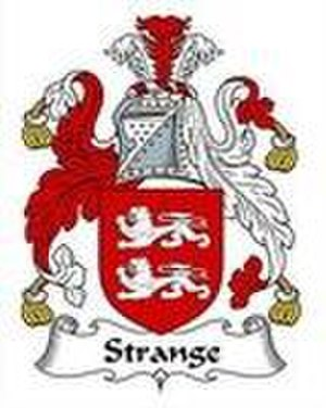 Baron Strange - Coats of arms of Lord Strange de Knockin