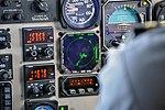 Cockpit & controls (Pineapple Air - Beechcraft 1900C airplane) (14 June 2012) (Bahamas) (24460866167).jpg