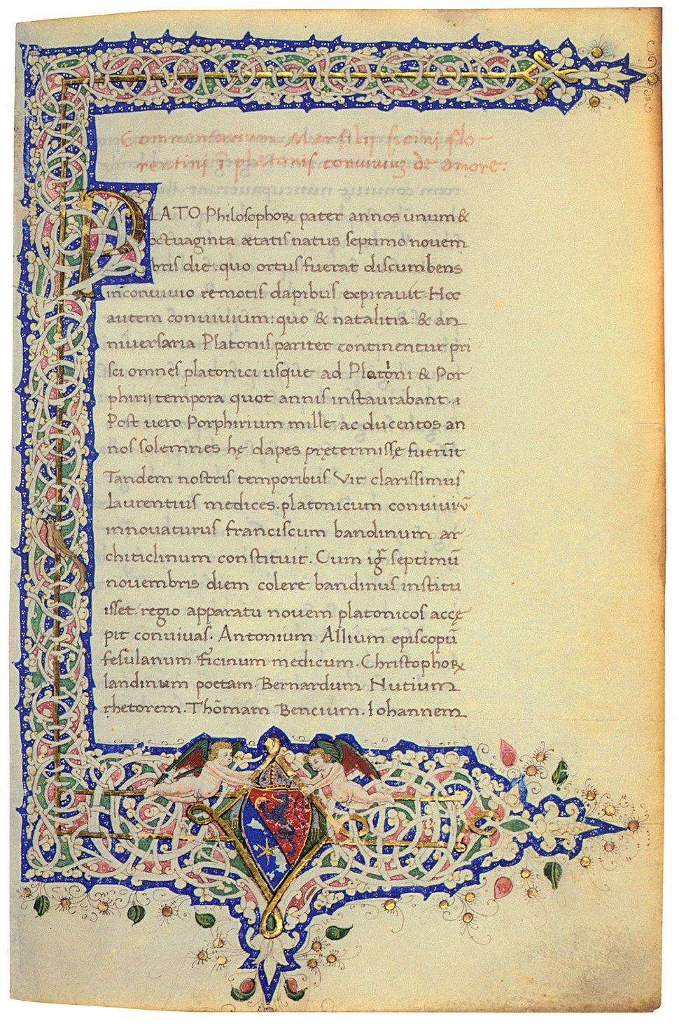 Codex Marsilio Ficino