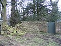Collapsed wall and gate into Ram Wood - geograph.org.uk - 736070.jpg