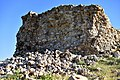Collapsed wall of the Paikuli Tower of the Sassanian king Narseh, c. 293 CE, Sulymaniyah, Iraq.jpg