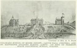 Colorado School of Mines, Jarvis Hall Collegiate School, and Matthews Divinity School
