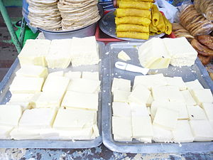 Colostrum - Solidified colostrum in a sweet stall, Salem, Tamil Nadu.