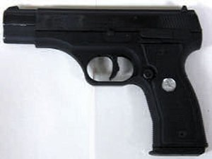 Colt 2000 - Polymer framed version of the Colt All American 2000 pistol