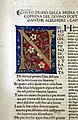 Commento di cristoforo landino sopra la comedia di dante..., incunabolo per niccolò di lorenzo della magna, firenze 1481, 04 inferno canto I, iniziale N.jpg