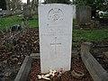 Commonwealth War Grave in Jarrow Cemetery (WW2-03) - geograph.org.uk - 1604360.jpg