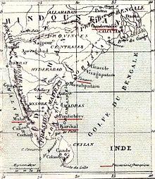 Inde Française Wikipédia
