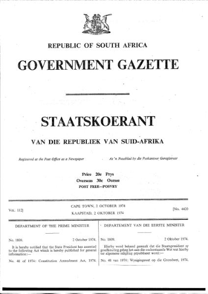 File:Constitution Amendment Act 1974.djvu