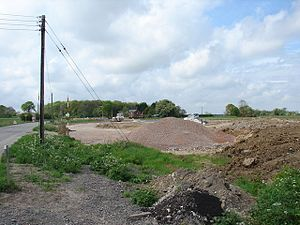 Burgh Bypass - Image: Construction work on Burgh Le Marsh bypass (West End) geograph.org.uk 426357