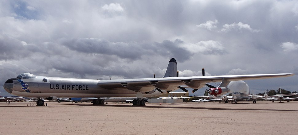 Convair B-36J Peacemaker located at Pima Air & Space Museum.