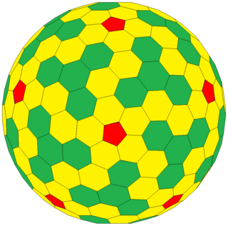 Goldberg polyhedron convex polyhedron made from hexagons and pentagons