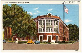 Cony High School Public school in Augusta, Kennebec, Maine, United States
