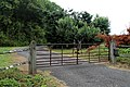 Copsale gate and private road ~ Copsale, Nuthurst, West Sussex, England.JPG