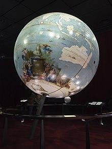 Globe terrestre de Coronelli.