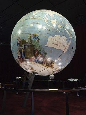 Vincenzo Coronelli - The terrestrial globe Coronelli made for Louis XIV.