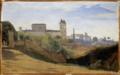 Corot - Rome, le Monte Pincio et la Trinité-des-Monts, entre 1826 et 1828 (environ).png