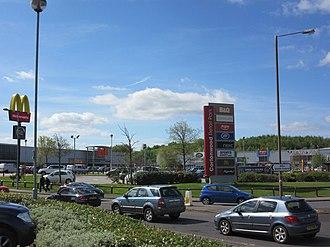 Cortonwood - Image: Cortonwood Shopping Centre