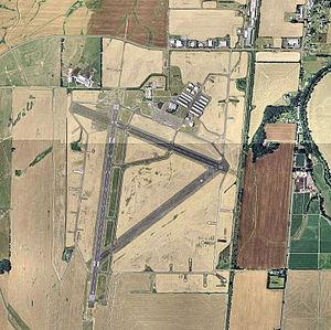 Corvallis Municipal Airport - USGS 2006 orthophoto