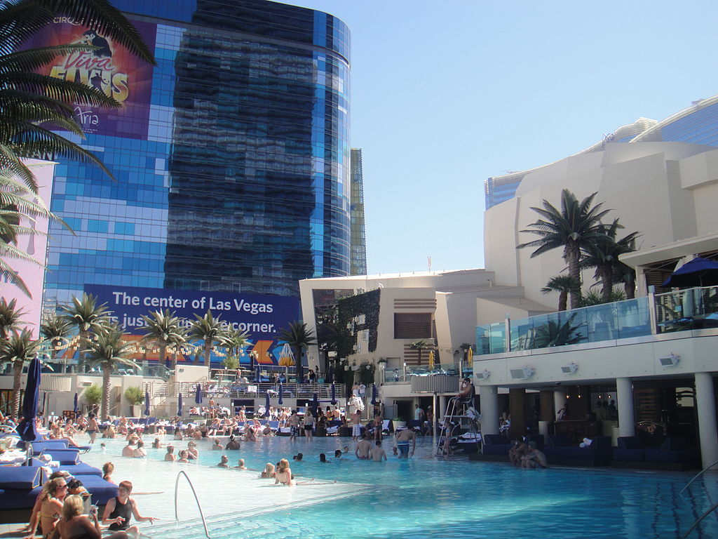 Pool at the Cosmopolitan Hotel and Casino, Las Vegas
