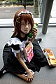 Cosplayer of Yui Hirasawa at Anime Festival Asia 20131108.jpg