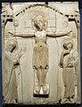 Costantinopoli, crocifissione in avorio, fine del X sec..JPG