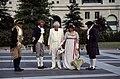 Costumed historic interpreters on Pennsylvania Avenue, Washington, D.C LCCN2011632688.jpg