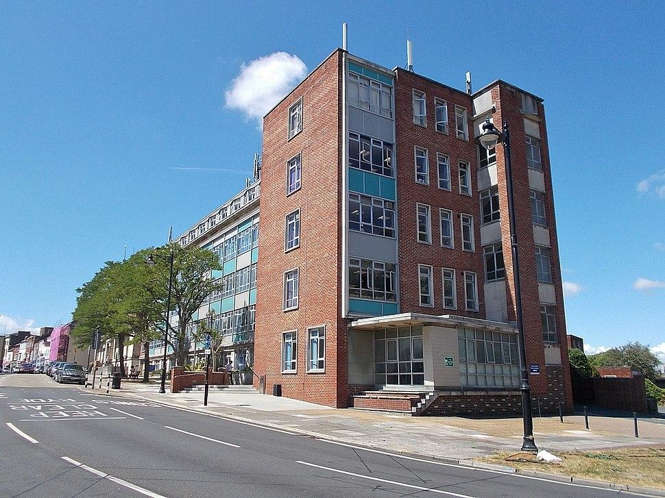 County Hall, Newport, Isle of Wight, UK