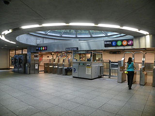 Court Square–23rd Street station New York City Subway station complex in Queens