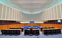 Aula della Corte Europea dei Diritti dell'Uomo