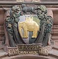 Coventry Council House coat of arms over entrance.jpg