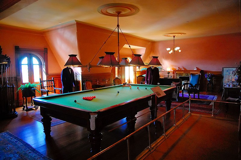 File:Craigdarroch Castle Billiards Room.jpg