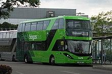 Biogas bus