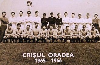 FC Bihor Oradea - Crișul Oradea (1965-1966)