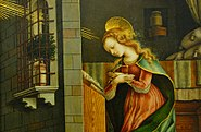 Crivelli,Carlo-The Virgin Annunciate