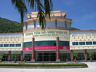 Miss Universe 2008 - Crown Convention Center, Nha Trang, venue for Miss Universe 2008