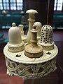 Cruet, Wedgwood, Etruria, late 1700s, creamware - Germanisches Nationalmuseum - Nuremberg, Germany - DSC03202.jpg