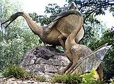 Modelos de Cimoliopterus no Crystal Palace Park