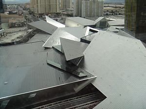 The Shops at Crystals - Image: Crystals Exterior Roof 2010 03 06