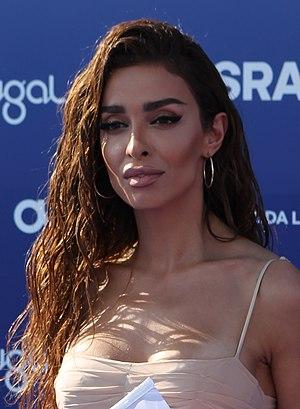 Cyprus - Eleni Foureira Blue Carpet Eurovision 2018 (3) (cropped).jpg