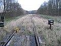 Düren-Gürzenich, Gleise zum ehemaliger BW-Depot, 08.04.2012. - panoramio.jpg