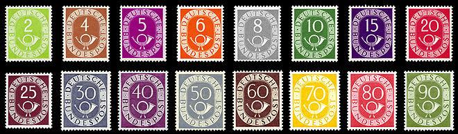 DBP 1951 Posthorn komplett.jpg