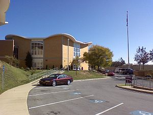 Dobyns-Bennett High School - Image: DB Outside 2007