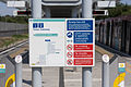 DLR map and restriction signs at Beckton DLR.jpg