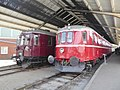 DSB MO 1954 and DSB MS 401 at Jernbanemuseet 02.jpg