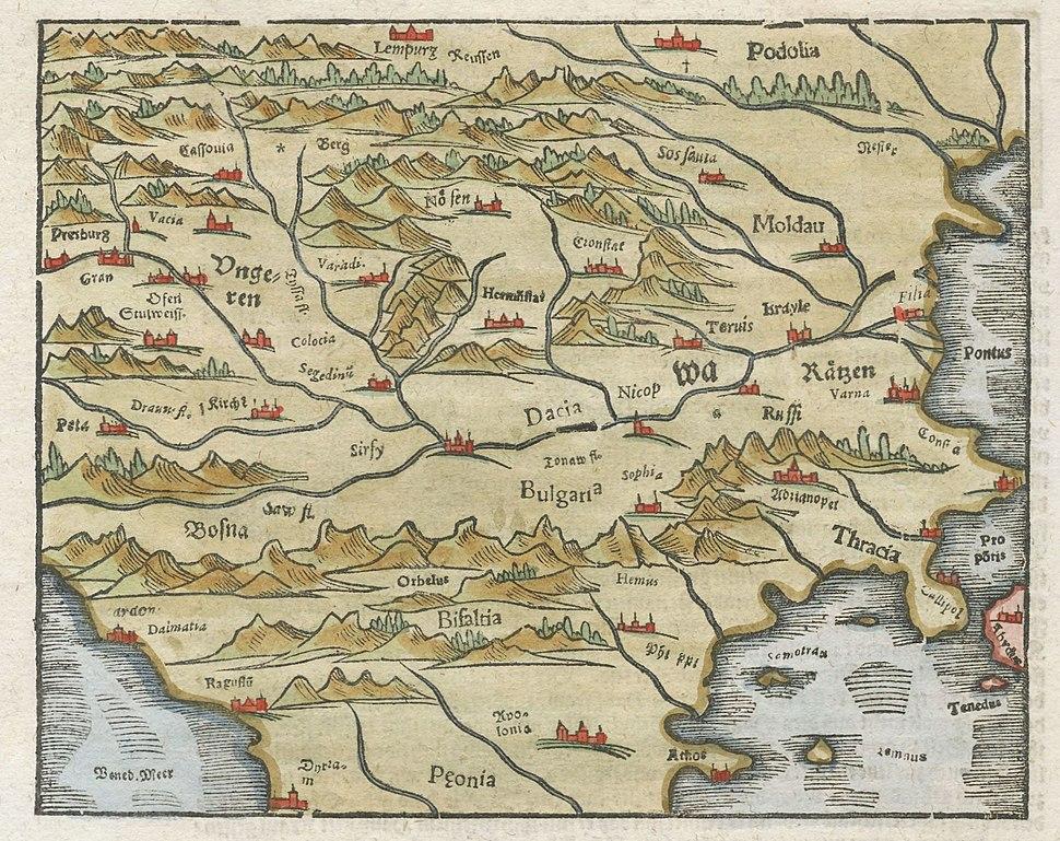 Dacia, 1620 (Münster)