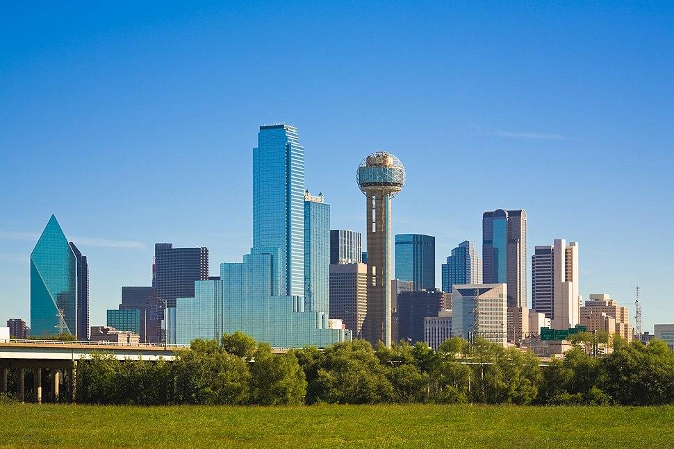 Dallas skyline daytime