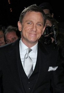 Daniel craig at a film premiere in new york